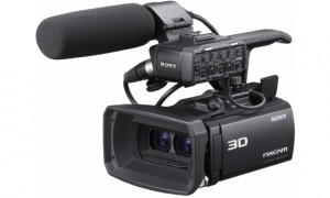 Sony HXR-NX3D1E - Camcorder 3D