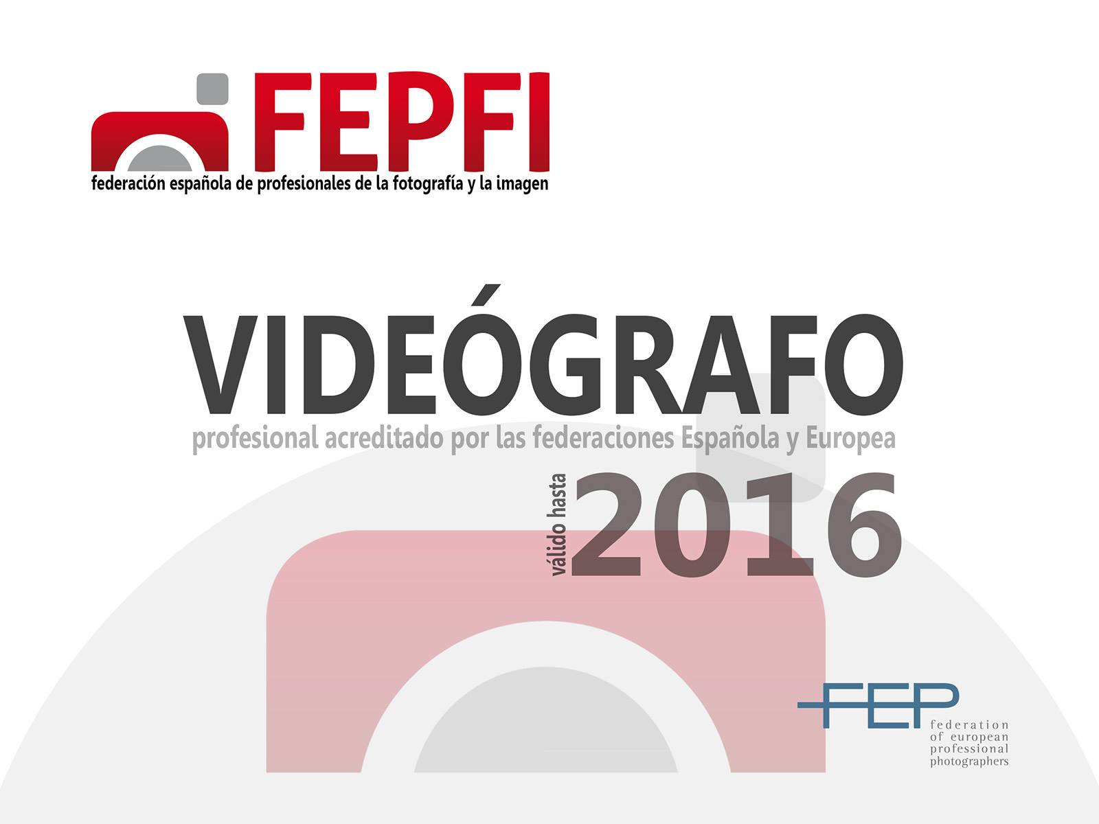 Miembro de FEPFI - Profesionales de la Imagen